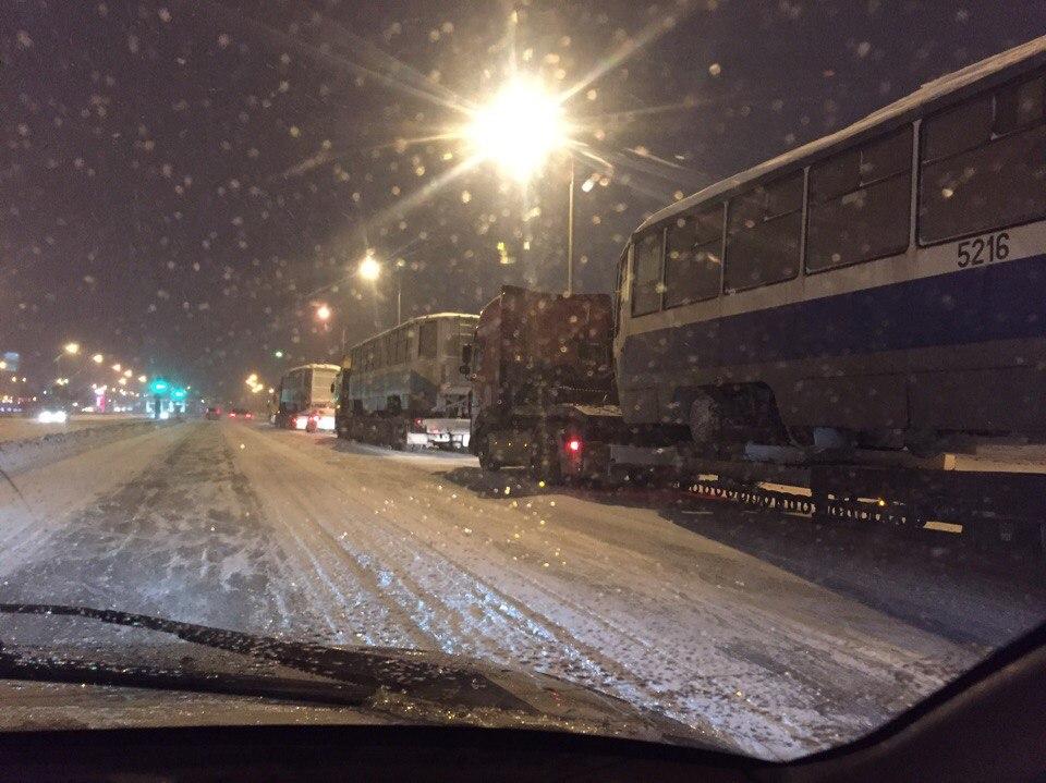 Трамваи, которые привезли из Москвы, пустят в Амур и на Стрельникова