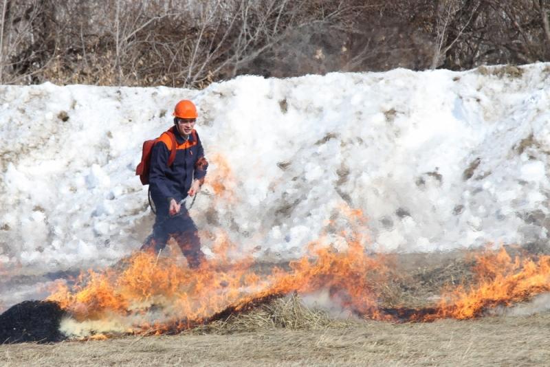 Влесных хозяйствах Омской области пожарная техника износилась на80%