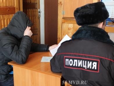Омич, ограбивший двух пенсионерок, прятался от полиции в кустах