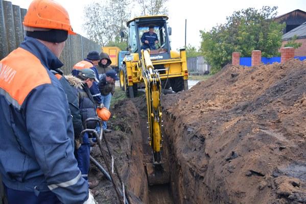 Рабочие омского водоканала отыскали мамонта вЧерёмушках