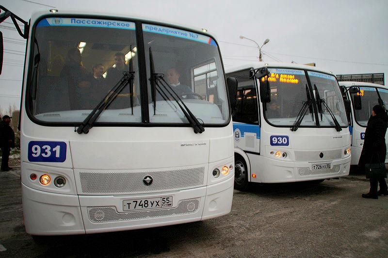 Наомские дороги выйдут еще 12 новых автобусов