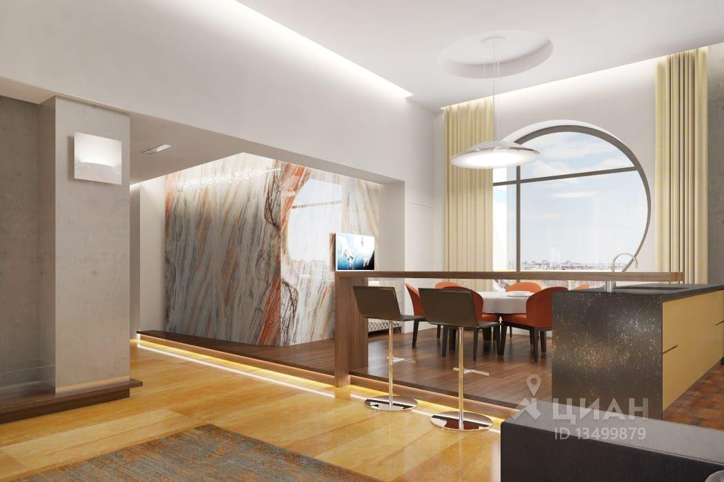 04d087450e7c3 Объект представляет собой трехуровневый пентхаус на 12-м этаже дома 2008  года постройки. В нем выполнена дизайнерская отделка в современном стиле,  ...