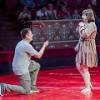 Омич сделал в цирке предложение любимой девушке